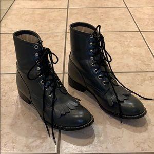 Vintage Justin's Grey Boots